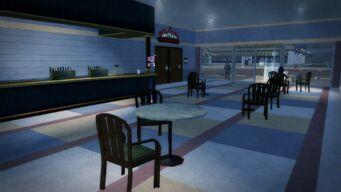 Charred Hard Burgers in Stilwater Boardwalk - interior restaurant area