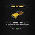 Saints Row unlockable - Vehicles - Stiletto