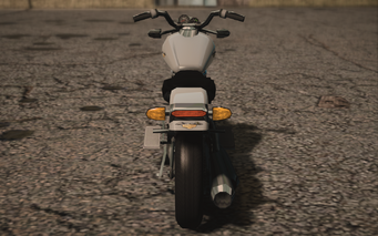 Saints Row IV variants - Estrada Chopshop - rear