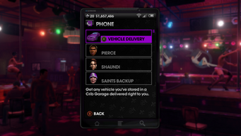 Vehicle Delivery in Saints Row The Third