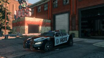 Peacemaker - front left in Saints Row The Third