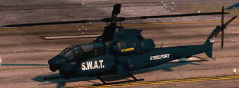 Tornado - SWAT variant - front left on ground in Saints Row The Third