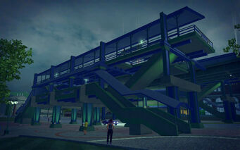 Humbolt Park in Saints Row 2 - Museum Station