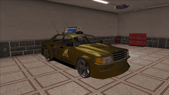 Saints Row variants - Taxi - Eagle B - front right