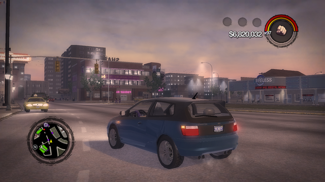 File:Mockingbird - rear left with lights in Saints Row 2.png