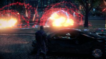 Stomp - Explosive area attack