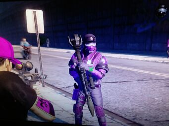 Homie with Annihilator in Saints Row The Third