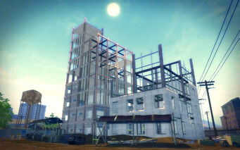 Harrowgate in Saints Row 2 - construction
