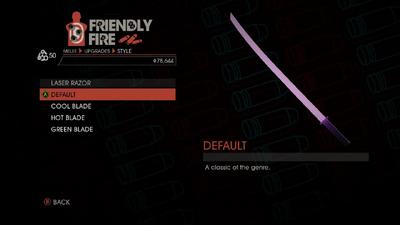 Weapon - Melee - Energy Sword - Laser Razor - Default
