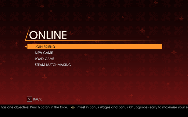 File:Saints Row Gat out of Hell - Main Menu - Co-op Campaign - Online.png