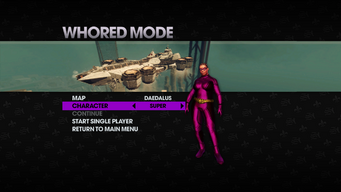 Whored Mode single player - Daedalus - Super