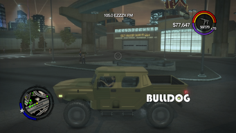 Bulldog - left with logo in Saints Row 2