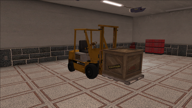 File:Saints Row variants - Forklift - industrial with crate - front right.png