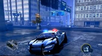 Peacemaker - front left with sirens in Saints Row The Third