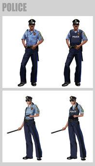 Saints Row 2 Police Concept Art