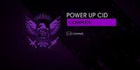 Power Up CID