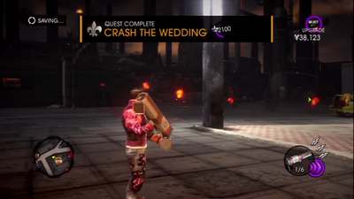 Saints Row Gat out of Hell - Mission - Defeat Satan Quest name