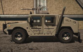 Saints Row IV variants - Bulldog turret Military - left