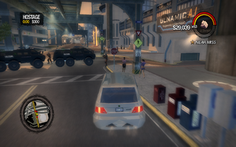 Hostage roadblock in Saints Row 2