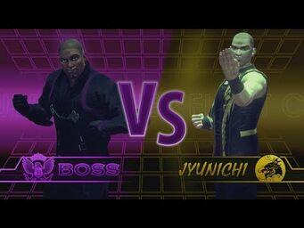 Jyunichi in Fight Club in Saints Row IV