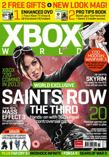 Viola on cover of Xbox World