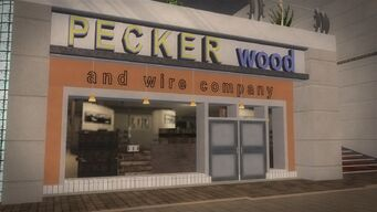 Rounds Square Shopping Center - Pecker wood and wire company
