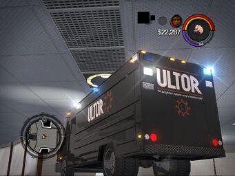 Peacekeeper - ultor variant - rear left in Saints Row 2