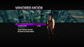 Whored Mode single player - Zombie Island - Cyril