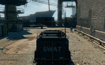 Lockdown - rear in Saints Row The Third