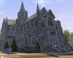 Saints Row Church - north east exterior in Saints Row