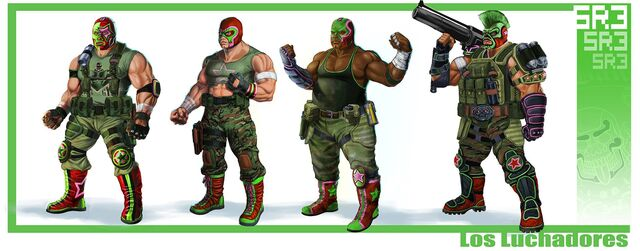 File:The Luchadores Concept Art Scan.jpg