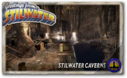 Postcard hood stilwater caverns