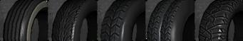 Cust veh tires