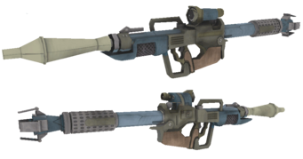 Annihilator RPG - Saints Row 2 model
