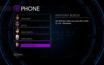 Burches in Cellphone