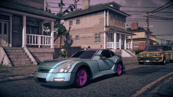 Raycaster - front left in Saints Row IV