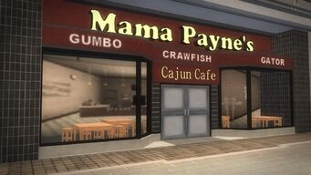 Rounds Square Shopping Center - Mama Payne's Cajun Cafe