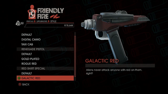 Weapon - Pistols - Quickshot Pistol - Red Shirt Special - Galactic Red