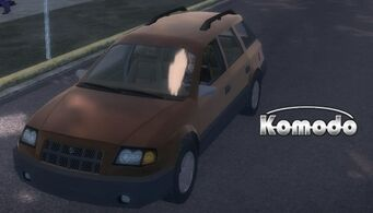 Komodo - front left with logo in Saints Row 2
