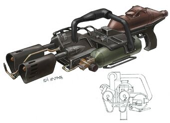 Flamethrower Concept Art
