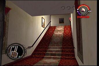 Raykins Hotel - stairs