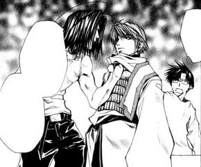 Gojyo Hakkai Sanzo Burial Manga 001
