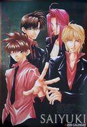 Saiyuki cal 2000 cover