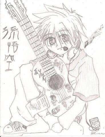 File:Goku guitar.jpg