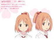 Rina Character Art Design