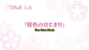 Sakura Trick Ep 1-A Title