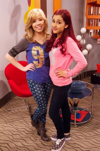Sam and Cat in their pajamas