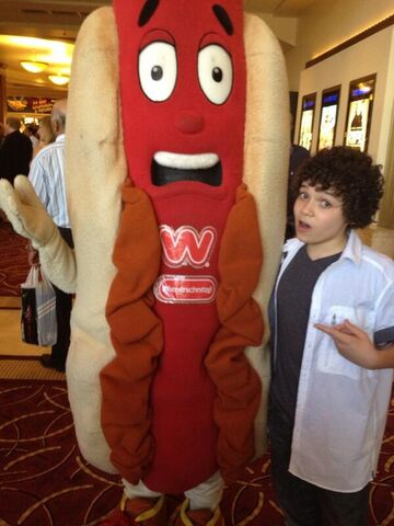 File:Cameron Ocasio with a giant hot dog.jpg