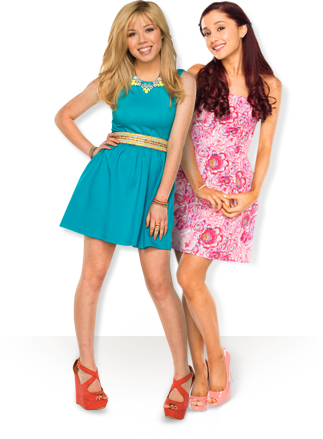 File:Ariana Grande and Jennette Mccurdy posing in the Nesquik Commercial.png
