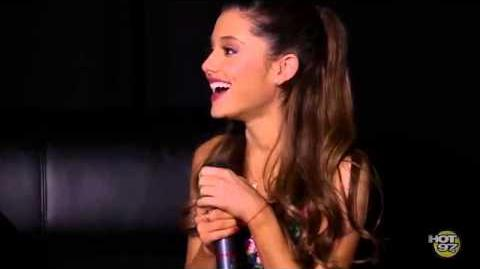 Ariana interview with Hot 97